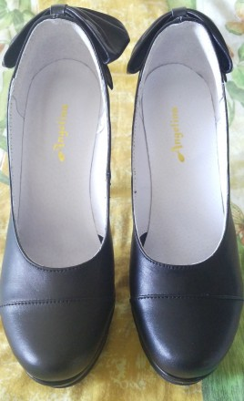 Продам обалденные красивые новые туфли с бантом украинского производителя. Покуп. Лисичанск, Луганская область. фото 5