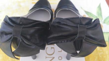 Продам обалденные красивые новые туфли с бантом украинского производителя. Покуп. Лисичанск, Луганская область. фото 6