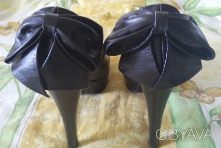 Продам обалденные красивые новые туфли с бантом украинского производителя. Покуп. Лисичанск, Луганская область. фото 1
