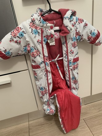 Продаётся зимний комбинезон канадского производителя прекрасной детской одежды D. Киев, Киевская область. фото 3