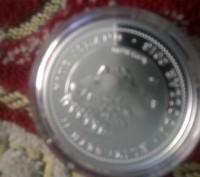 Срібна монета 1 долар (Нова Зеландія).. Тернополь. фото 1