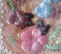 Платье для девочки,вышивка лентами, две юбки для пышности, производство Китай, с. Белая Церковь, Киевская область. фото 5