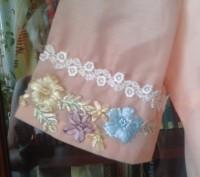 Платье для девочки,вышивка лентами, две юбки для пышности, производство Китай, с. Белая Церковь, Киевская область. фото 6