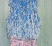 Вязаный жилет. Балаклея. фото 1