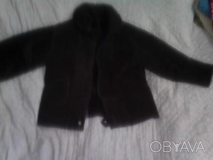 Дублека-куртка на натуральном меху. Носить можно несколько лет, пока ребенок не . Луцк, Волынская область. фото 1
