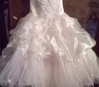 Платье нарядное, почти новое, один раз одели. Все вопросы по телефону.. Житомир, Житомирская область. фото 8