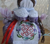 Травница Кукла-мотанка оберег для здоровья Подарок. Запоріжжя. фото 1