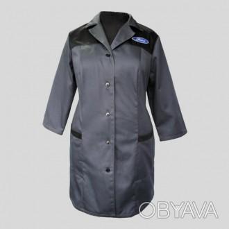 Халат рабочий женский. Униформа