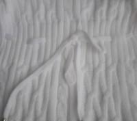 Модель К-14. Белый удлиненный свитер-туника. Украшен большим красивым воротником. Киев, Киевская область. фото 5