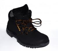 Мужские ботинки на меху по типу Timberland 40-45 размер. Киев. фото 1
