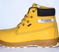 Зимние ботинки из натурального нуббука, есть 41-45 размеры. Restime оригинал. Киев. фото 1