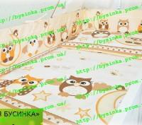 Детское постельное белье из 6 ед.(без балдахина и кармана). Киев. фото 1