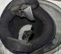 Мото шлем Италия (оригинал), не китайский ширпотреб, состояние отличное.. Лохвица, Полтавская область. фото 6
