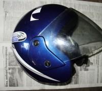 Мото шлем Италия (оригинал), не китайский ширпотреб, состояние отличное.. Лохвица, Полтавская область. фото 3