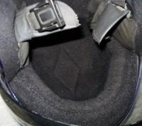 Мото шлем Италия (оригинал), не китайский ширпотреб, состояние отличное.. Лохвица, Полтавская область. фото 5