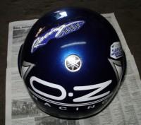 Мото шлем Италия (оригинал), не китайский ширпотреб, состояние отличное.. Лохвица, Полтавская область. фото 4