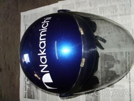 Мото шлем Италия (оригинал), не китайский ширпотреб, состояние отличное.. Лохвица, Полтавская область. фото 1