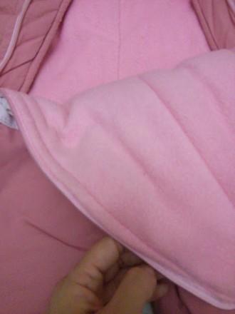 Теплый и удобный зимний комбинезон для малышки, полностью расстегивается спереди. Калуш, Ивано-Франковская область. фото 5