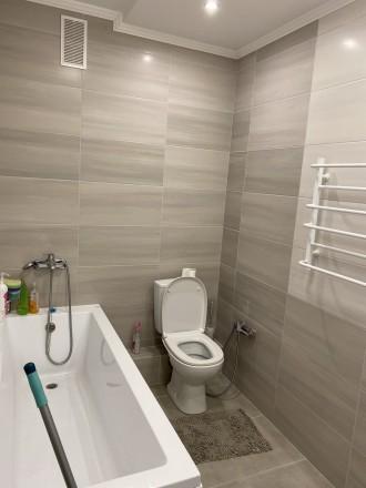 Продам 1 ком.квартиру площадь 40 м2 на 9/10 этаже. Сделан качественный ремонт, п. Синергия-2 ЖК, Ирпень, Киевская область. фото 7