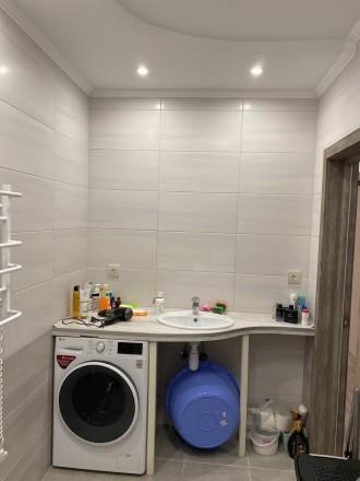 Продам 1 ком.квартиру площадь 40 м2 на 9/10 этаже. Сделан качественный ремонт, п. Синергия-2 ЖК, Ирпень, Киевская область. фото 6