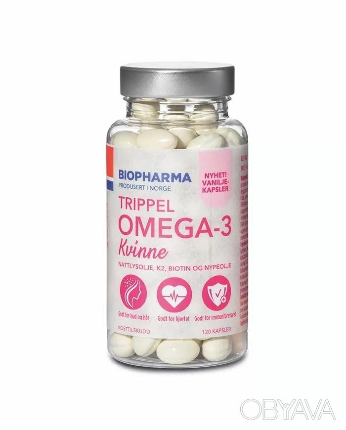 omega 3 kvinna