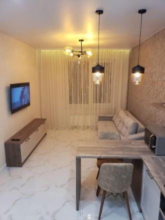 #2-20821 Сдается шикарная, стильная 1-комнатная в ЖК «35 Жемчужина»  на Литерат. Приморский, Одесса, Одесская область. фото 3