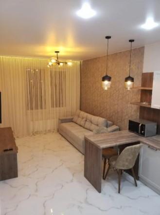 #2-20821 Сдается шикарная, стильная 1-комнатная в ЖК «35 Жемчужина»  на Литерат. Приморский, Одесса, Одесская область. фото 2