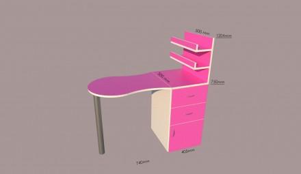 Наша компания занимается изготовлением и продажей столов для маникюра. В наличии. Киев, Киевская область. фото 2