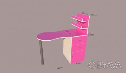 Наша компания занимается изготовлением и продажей столов для маникюра. В наличии. Киев, Киевская область. фото 1