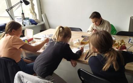 Творчі заняття для дорослих і дітей. Майстер-класи з акварелі, пастелі, акрилу, . Львов, Львовская область. фото 8