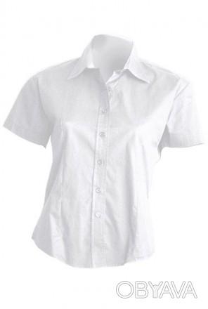 Предлагаем качественные рубашки Рубашка женская с коротким рукавом  ткань Попл. Южный, Одесская область. фото 1