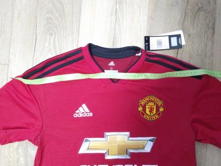 Размер S. Продам оригинальную футболку домашней формы Манчестер Юнайтед сезона . Винница, Винницкая область. фото 6