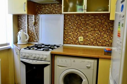 Сдаю 1 комнатную квартиру на 1-й станции Люстдорфской дороги, 3эт/5, современный. Киевский, Одесса, Одесская область. фото 4