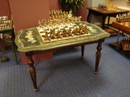 Производим и продаем столы-трансформеры(шахматы и нарды).Есть выбор. Возможно из. Киев, Киевская область. фото 5