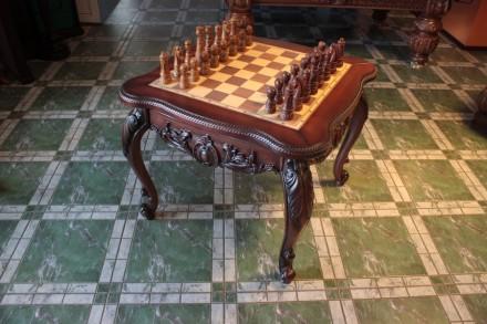 Производим и продаем столы-трансформеры(шахматы и нарды).Есть выбор. Возможно из. Киев, Киевская область. фото 2