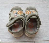 Босоножки детские тканевые, производитель канада, носил один ребёнок, не искривл. Лубны, Полтавская область. фото 6