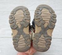 Детские босоножки, полностью 100% кожа, производитель канада, носил один ребёнок. Лубны, Полтавская область. фото 7