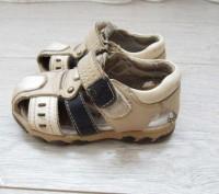 Детские босоножки, полностью 100% кожа, производитель канада, носил один ребёнок. Лубны, Полтавская область. фото 4