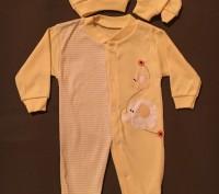 Костюмчики человечки для новорожденного 3-9 месяцев отличное качество. Киев, Киевская область. фото 3