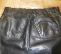 Кожаные брюки пошиты в форме джинсов. Куплены в Германии для езды на мотоцикле.Н. Винница, Винницкая область. фото 8
