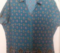 Блуза большой размер из плиссированной ткани, новая США. Полтава. фото 1