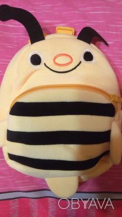 Очаровательный мягкий детский рюкзак-игрушка для детей в детский садик или прост. Львов, Львовская область. фото 1
