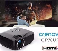 Проектор Crenova GP70UP 3D Android 4.4 1920x1080. Запорожье. фото 1