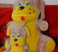 Мягкие игрушки в хорошем состоянии,длина мишки 108 см.. Полтава, Полтавская область. фото 9