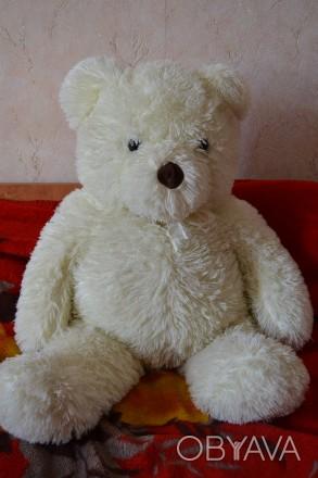 Мягкие игрушки в хорошем состоянии,длина мишки 108 см.. Полтава, Полтавская область. фото 1