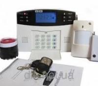 GSM сигнализация GSM026 с поддержкой проводных и беспроводных датчиков. Одесса. фото 1