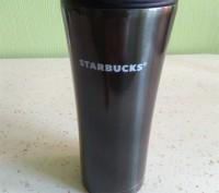 Стильная термочашка Starbucks, 500мл.. Чернигов. фото 1
