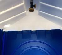 Преимущества душевой кабины: - Автономна, не требует подключения к водопроводу.. Чернигов, Черниговская область. фото 3
