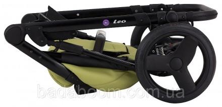 Универсальная коляска Bair Leo с люлькой и прогулочным блоком - это оптимальное . Киев, Киевская область. фото 3