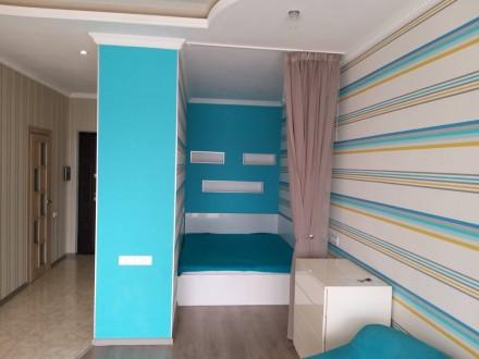Сдам красивую 1-комнатную квартиру в жилом комплексе 3-Жемчужина на Архитекторск. Таирова, Одесса, Одесская область. фото 5